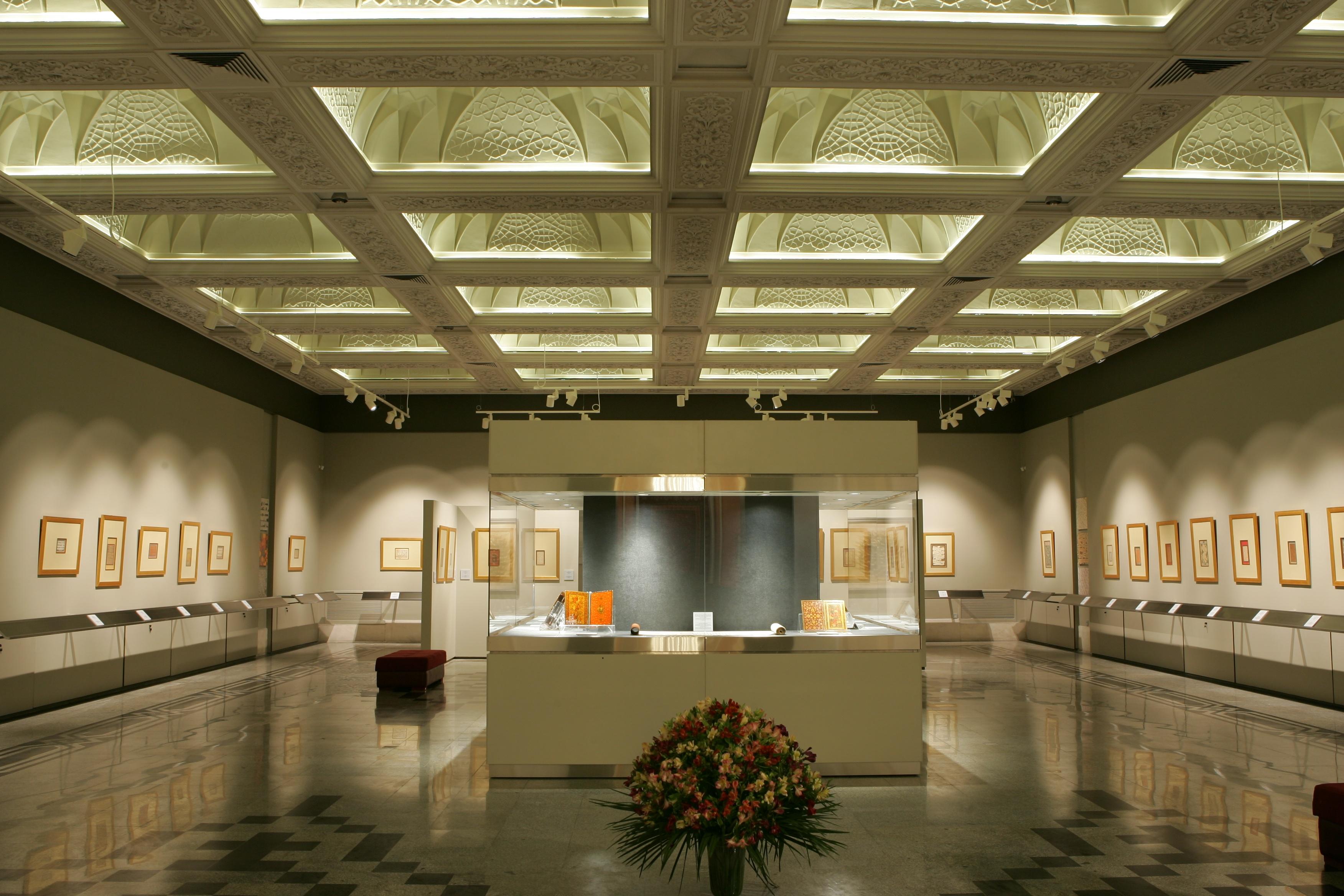 نمایشگاه دایمی خوشنویسی و نگارگری