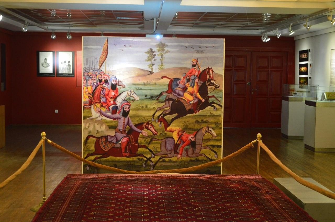 نمایشگاه هنر اسلامی ایرانی: دوره قاجار1
