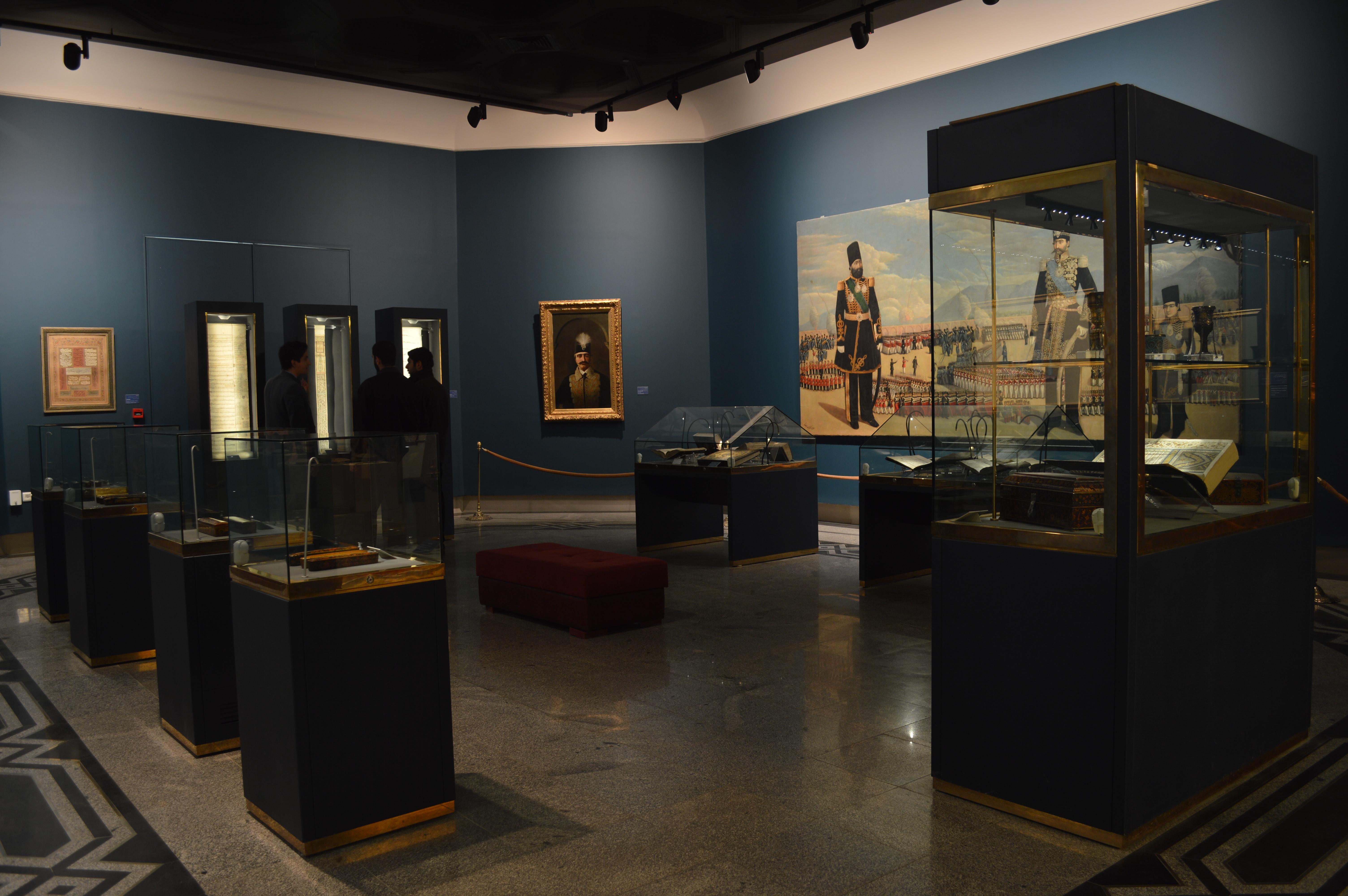 نمایشگاه دائمی آثار اهدایی بانو عزت ملک ملک
