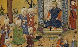 گزیده نگارگریهای کتابخانه و موزه ملی ملک