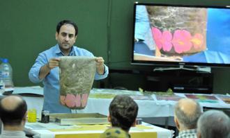 کارگاه آموزشی «ساخت کاغذ ابری»