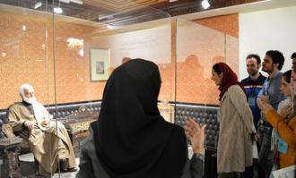 تور صحنه و پشت صحنه کتابخانه و موزه ملی ملک- روز دوم