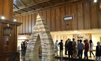 تور صحنه و پشت صحنه کتابخانه و موزه ملی ملک- روز سوم