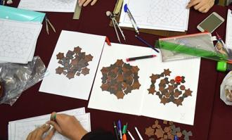 کارگاه «آشنایی با نقوش هندسی» ویژه کودکان