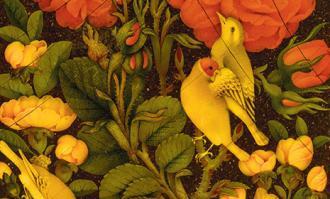 کارگاه آموزشی «گل و مرغ (پیشرفته)»