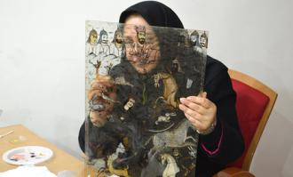 گشایش نمایشگاه «مینای هفترنگ»