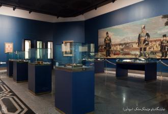 نمایشگاه دائمی آثار اهدایی بانو عزتملک ملک