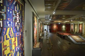 نمایشگاه نقش بافته ها