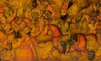 اسب و آتش؛ نمایشگاه قلمدان جنگ کرنال