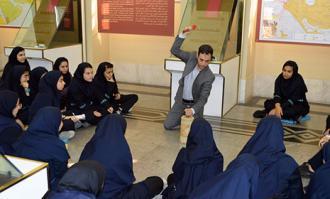 کارگاه ضرب سکه در کتابخانه و موزه ملی ملک