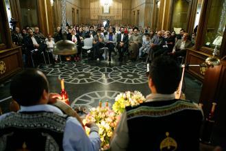 مناجات امیرالمومنین (ع) در کتابخانه و موزه ملی ملک طنین افکند