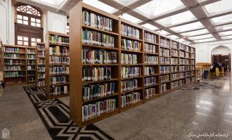 آشنایی با تولیدات فرهنگی موسسه کتابخانه و موزه ملی ملک در نمایشگاه کتاب تهران