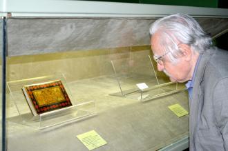 بر کرانه های ابریشم در کتابخانه و موزه ملی ملک
