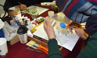 نمایشگاه آثار نقاشی پشت شیشه در کتابخانه و موزه ملی ملک برگزار میشود