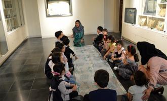 کارگاه و تور قصهگویی «راز قصهها» در کتابخانه و موزه ملی ملک