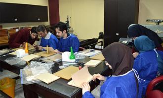 کارگاه «آشنایی با صحافی» در کتابخانه و موزه ملی ملک برگزار شد