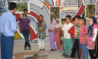 کتابخانه و موزه ملی ملک در سه مرکز نگهداری کودکان خاص کارگاه موزهای برگزار کرد