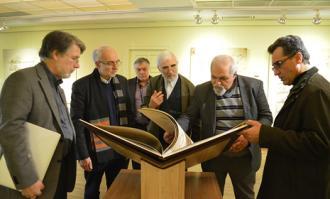 فرانسیس ریشار: کتابخانه و موزه ملی ملک، نمودار یک کلکسیون در معنای جهانی است