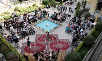 کتابخانه و موزه ملی ملک میزبان آیینهای پهلوانی و زورخانهای میشود