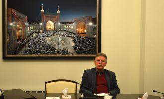 سخنرانی اولریش مارزلف در کتابخانه و موزه ملی ملک