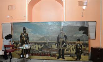 «میدان مشق» دوباره در کتابخانه و موزه ملی ملک به نمایش درمیآید