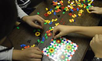 گرهچینی رنگها و نقشها؛ کارگاهی برای کودکان و نوجوانان