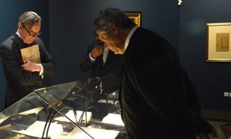 بازدید فرستاده ویژه کشور اروگوئه از نخستین موزه وقفی- خصوصی ایران