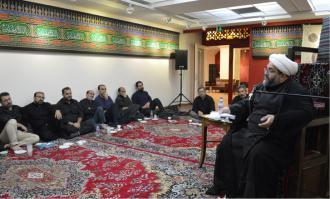 آیین تاسوعای حسینی در سوگواری سیدالشهدا علیهالسلام در کتابخانه و موزه ملی ملک برگزار شد