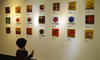 نمایشگاه «موزه ملک از نگاه من» در کتابخانه و موزه ملی ملک گشایش یافت