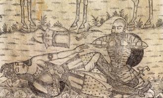 نمایشگاه نقاشی پشت شیشه «شاهنامه چاپ سنگی میرزا علیقلی خویی» در کتابخانه و موزه ملی ملک گشایش مییابد