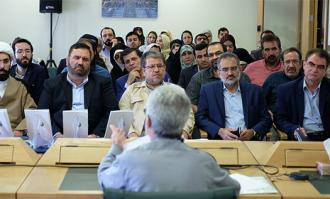 اشعار رضوی، کتابخانه و موزه ملی ملک را عطرآگین کرد