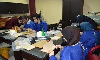 برگزاری کارگاه یک روزه آموزشی «آشنایی با صحافی» در کتابخانه و موزه ملی ملک