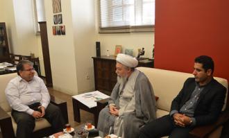 بازدید رییس موسسه غدیرشناسی از کتابخانه و موزه ملی ملک