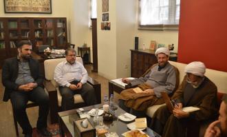هماهنگی برای بازدید میهمانان خارجی مجمع جهانی اهل بیت (علیهمالسلام) از کتابخانه و موزه ملی ملک