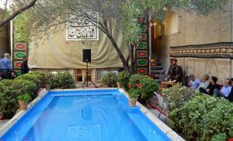 آیین سوگواری سیدالشهدا علیهالسلام در خانه تاریخی ملک در بازار تهران برگزار شد