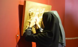 کارگاه ساخت شخصیتهای شاهنامه برای دانشآموزان مجتمع شبانهروزی نابینایان دخترانه نرجس برگزار شد