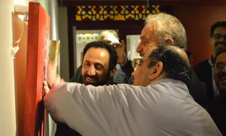 نمایشگاه «نادیدههای دیدنی؛ داستانهای شاهنامه برای نابینایان» در کتابخانه و موزه ملی ملک گشایش یافت