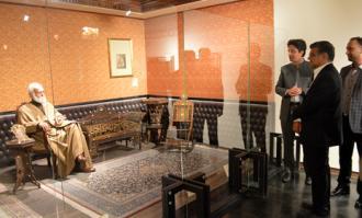 میزبانی کتابخانه و موزه ملی ملک از شخصیتهای علمی و فرهنگی