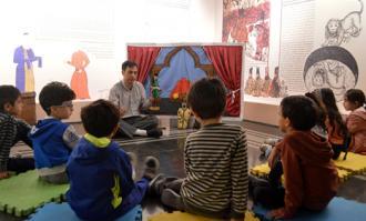 تور و کارگاه آموزشی «باغ قصهها» برای کودکان 4 و 5 ساله تهرانی در کتابخانه و موزه ملی ملک