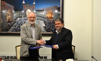 مربع فرهنگی کتاب و کتابخوانی در کتابخانه ملی ملک گسترش و ترویج مییابد