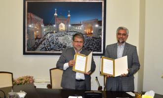 تفاهمنامه همکاری میان کتابخانه و موزه ملی ملک و مجمع کتابخانههای تخصصی استان قم (مکتا) امضا شد