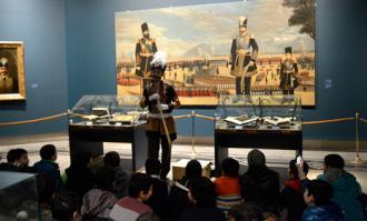 چهارده کارگاه آموزشی تورهای هدفمند بازدید کتابخانه و موزه ملی ملک برای کودکان و نوجوانان
