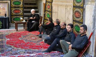 دومین روز آیین سوگواری سیدالشهدا (ع) در خانه تاریخی ملک در بازار تهران برگزار شد