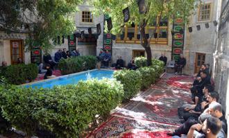 بخش دوم آیین سوگواری سیدالشهدا (ع) در خانه تاریخی ملک در بازار تهران برگزار شد