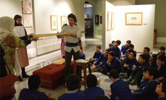 تورهای ویژه قصهگویی و کتابخوانی برای کودکان و نوجوانان در کتابخانه و موزه ملی ملک
