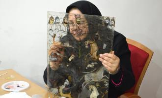 نمایشگاه «مینای هفترنگ» گزیده آثار نقاشی پشت شیشه در کتابخانه و موزه ملی ملک گشایش مییابد