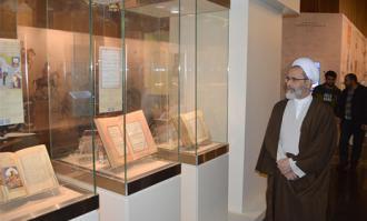 مدیر حوزههای علمیه سراسر کشور از کتابخانه و موزه ملی ملک دیدار کرد