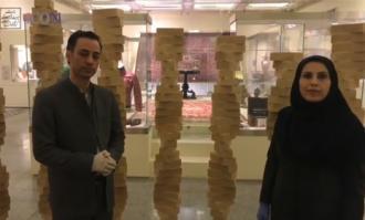 فیلم پخش زنده دیدار کتابخانه و موزه ملی ملک در نوروز 1399 را به تماشا بنشینید