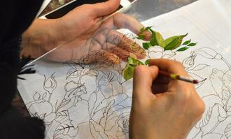 کارگاه آموزشی نقاشی پشت شیشه و آینه/ سه فیلم آموزشی