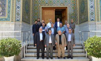 هیات امنای بازار تهران از کتابخانه و موزه ملی ملک دیدار کردند